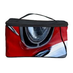 Classic Car Red Automobiles Cosmetic Storage Case