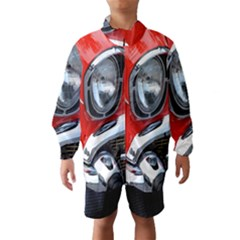 Classic Car Red Automobiles Wind Breaker (kids)