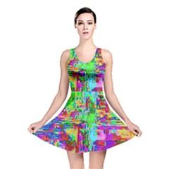 Compression Pattern Generator Reversible Skater Dress