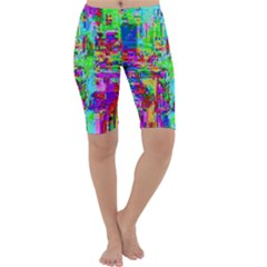 Compression Pattern Generator Cropped Leggings