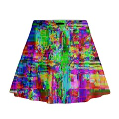 Compression Pattern Generator Mini Flare Skirt