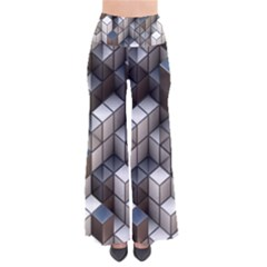 Cube Design Background Modern Pants