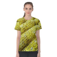 Corn Grilled Corn Cob Maize Cob Women s Cotton Tee