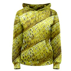 Corn Grilled Corn Cob Maize Cob Women s Pullover Hoodie