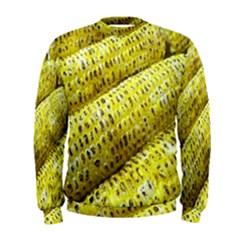 Corn Grilled Corn Cob Maize Cob Men s Sweatshirt