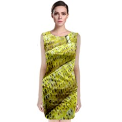 Corn Grilled Corn Cob Maize Cob Classic Sleeveless Midi Dress