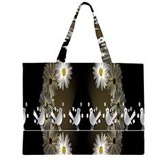 Daisy Bird  Large Tote Bag