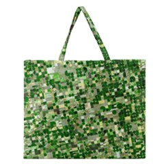 Crops Kansas Zipper Large Tote Bag