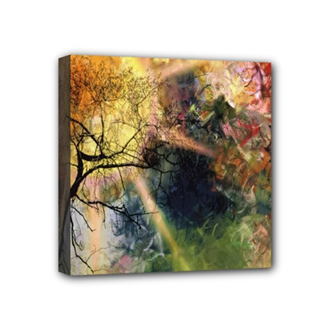 Decoration Decorative Art Artwork Mini Canvas 4  x 4