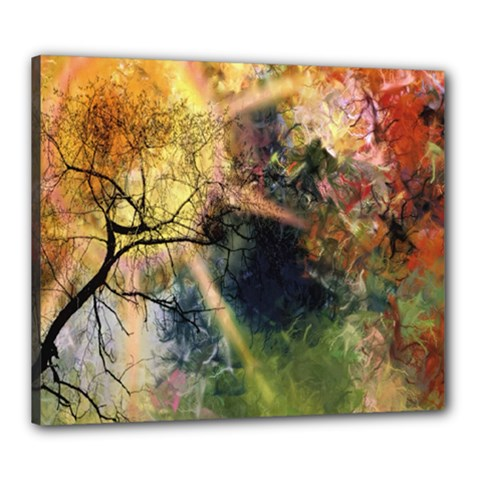 Decoration Decorative Art Artwork Canvas 24  x 20