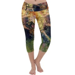 Decoration Decorative Art Artwork Capri Yoga Leggings