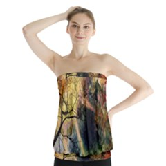 Decoration Decorative Art Artwork Strapless Top