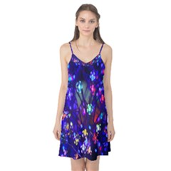 Decorative Flower Shaped Led Lights Camis Nightgown