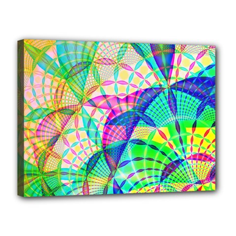 Design Background Concept Fractal Canvas 16  x 12