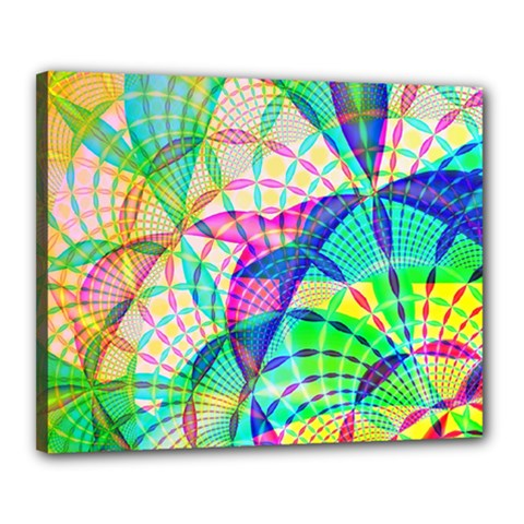 Design Background Concept Fractal Canvas 20  X 16