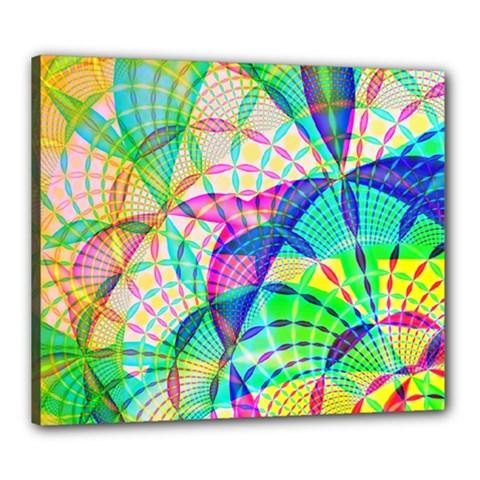 Design Background Concept Fractal Canvas 24  x 20