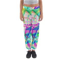 Design Background Concept Fractal Women s Jogger Sweatpants