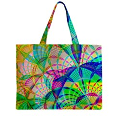 Design Background Concept Fractal Zipper Mini Tote Bag