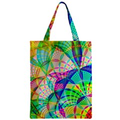 Design Background Concept Fractal Zipper Classic Tote Bag