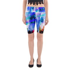 Dirty Dirt Spot Man Doll View Yoga Cropped Leggings
