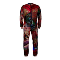 Display Dummy Binary Board Digital OnePiece Jumpsuit (Kids)