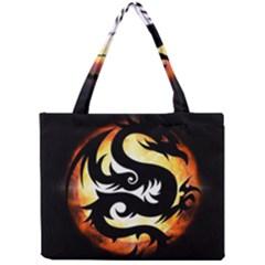 Dragon Fire Monster Creature Mini Tote Bag