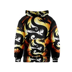 Dragon Fire Monster Creature Kids  Pullover Hoodie