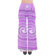 Digital Purple Party Pattern Pants
