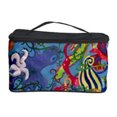 Dubai Abstract Art Cosmetic Storage Case