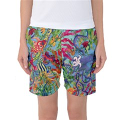 Dubai Abstract Art Women s Basketball Shorts