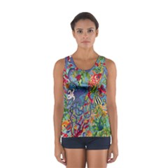 Dubai Abstract Art Women s Sport Tank Top