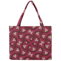 Digital Raspberry Pink Colorful Mini Tote Bag