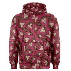 Digital Raspberry Pink Colorful Men s Pullover Hoodie