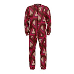 Digital Raspberry Pink Colorful OnePiece Jumpsuit (Kids)