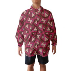 Digital Raspberry Pink Colorful Wind Breaker (Kids)