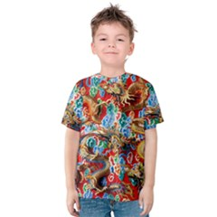 Dragons China Thailand Ornament Kids  Cotton Tee