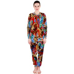 Dragons China Thailand Ornament OnePiece Jumpsuit (Ladies)
