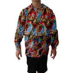 Dragons China Thailand Ornament Hooded Wind Breaker (kids)