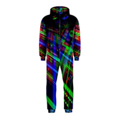 Electronics Board Computer Trace Hooded Jumpsuit (kids)