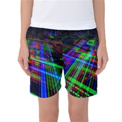 Electronics Board Computer Trace Women s Basketball Shorts