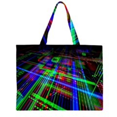 Electronics Board Computer Trace Large Tote Bag