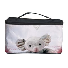Elephant Heart Plush Vertical Toy Cosmetic Storage Case
