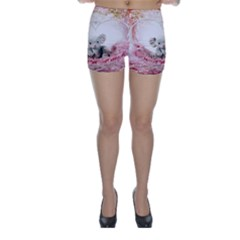 Elephant Heart Plush Vertical Toy Skinny Shorts