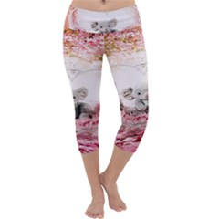 Elephant Heart Plush Vertical Toy Capri Yoga Leggings