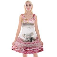 Elephant Heart Plush Vertical Toy Reversible Velvet Sleeveless Dress