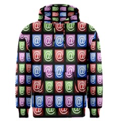 Email At Internet Computer Web Men s Pullover Hoodie