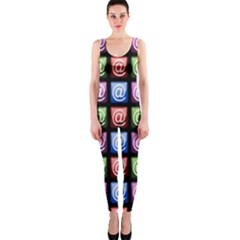 Email At Internet Computer Web OnePiece Catsuit