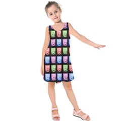 Email At Internet Computer Web Kids  Sleeveless Dress