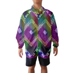 Embroidered Fabric Pattern Wind Breaker (kids)