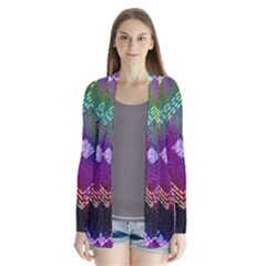 Embroidered Fabric Pattern Cardigans